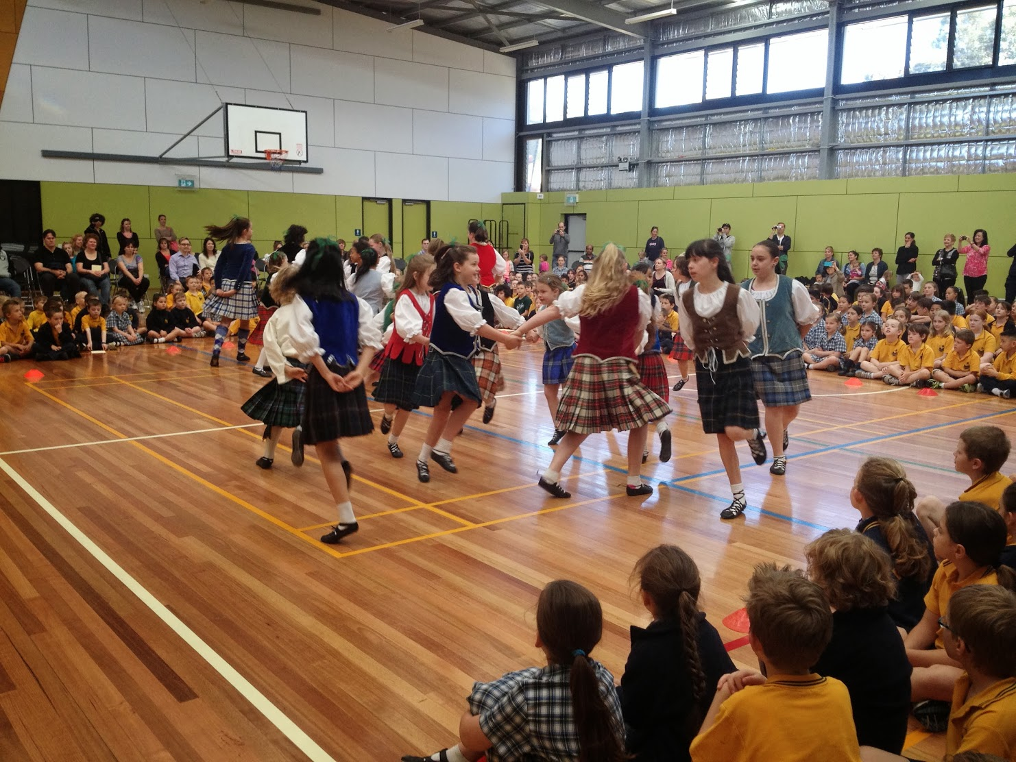 Highland Dancing performance